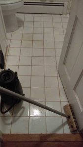 Bathroom Floor Cleaning in Lake Norman, North Carolina
